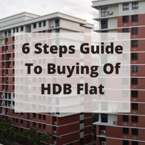 6  Steps in Buying  HDB Flat